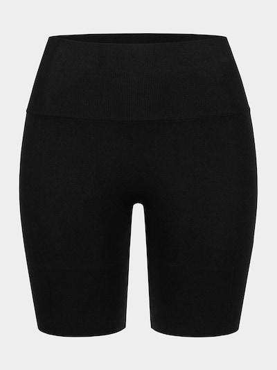 Erlich Textil Sport Radlerhose ' Juna ' in schwarz: Frontalansicht