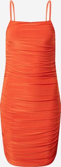 CLUB L LONDON Kleid in orange: Frontalansicht