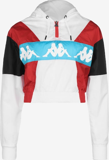 KAPPA Pull-over 'Authentic Race Clemy' en rouge / noir / blanc, Vue avec produit