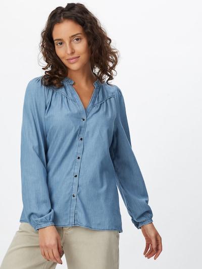 Maison 123 Bluse in blue denim, Modelansicht