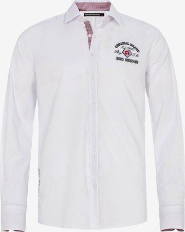 Redbridge Hemd 'Pomona' in Weiß