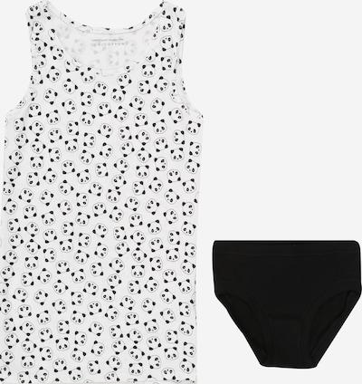 UNITED COLORS OF BENETTON Set perila | črna / bela barva, Prikaz izdelka