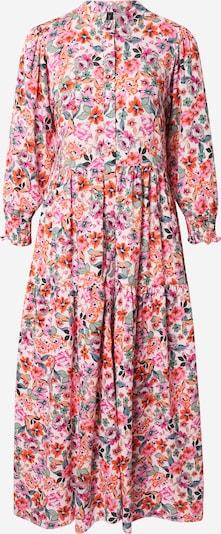 Y.A.S Kleid 'ALIRA' in hellgrün / orange / dunkelorange / hellpink / weiß, Produktansicht