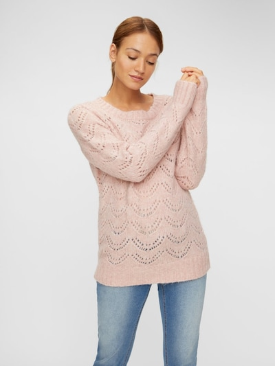 MAMALICIOUS Pullover in puder: Frontalansicht