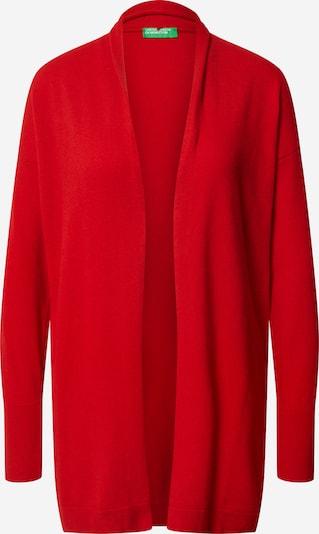 UNITED COLORS OF BENETTON Kardigan u crvena: Prednji pogled