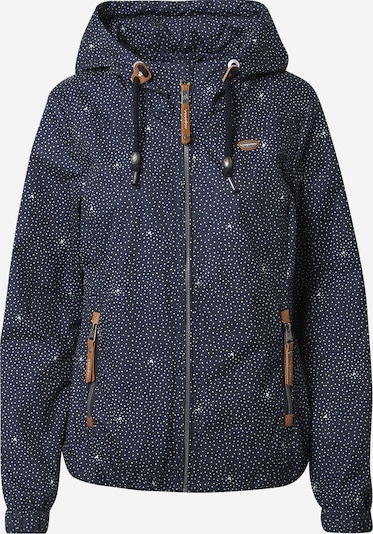 Ragwear Outdoor jacket 'Darow' in Navy / Brown / White, Item view