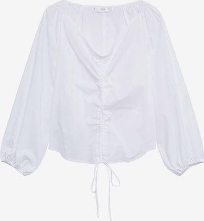 Bluză 'FLOWER' MANGO pe alb murdar, Vizualizare produs