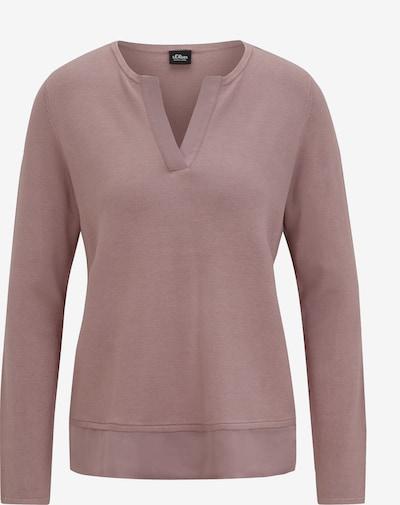 s.Oliver BLACK LABEL Pullover in rosé, Produktansicht