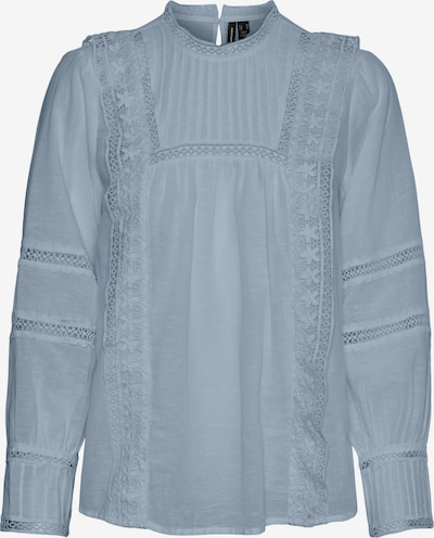 VERO MODA Bluse 'Etty' in taubenblau, Produktansicht