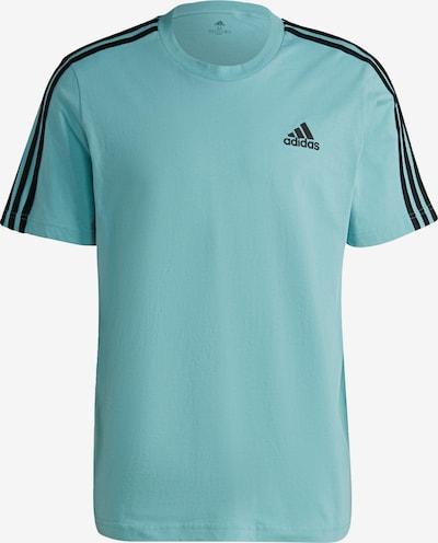 ADIDAS PERFORMANCE Sportshirt in türkis / schwarz, Produktansicht