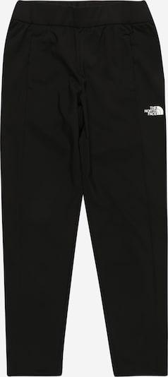 THE NORTH FACE Pantalon de sport en noir / blanc, Vue avec produit