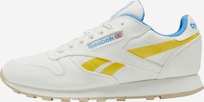 Reebok Classics Sneaker in hellblau / gelb / weiß, Produktansicht