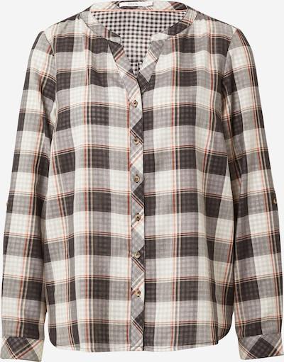 CECIL Bluse in grau / schwarz / weiß, Produktansicht