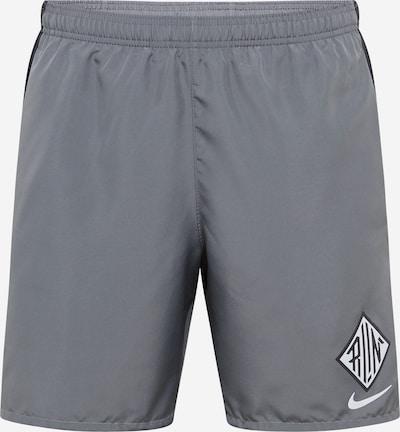 NIKE Športne hlače 'Challenger Wild Run' | siva / črna barva, Prikaz izdelka