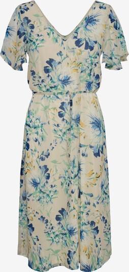 Vero Moda Tall Cocktailjurk 'Jasmine' in de kleur Crème / Navy / Hemelsblauw / Goudgeel / Wit, Productweergave