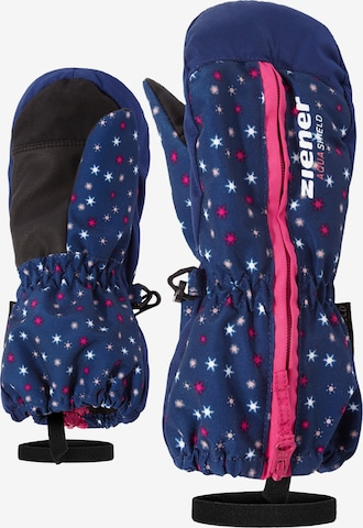 ZIENER Skihandschuhe 'LANGELO AS(R) MINIS glove' in Blau
