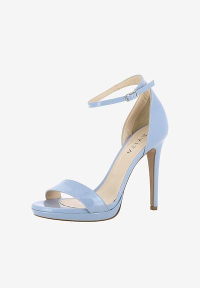 EVITA Sandalen met riem in de kleur Blauw: Vooraanzicht