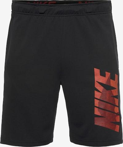 NIKE Spodnie sportowe w kolorze pomarańczowy / ciemnoczerwony / czarnym, Podgląd produktu