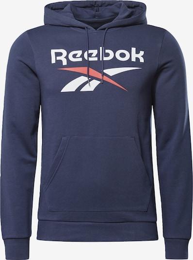 Reebok Classic Hoodie in dunkelblau / rot / weiß, Produktansicht