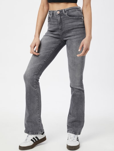 ONLY Jeans 'PAOLA LIFE' i grey denim, Modelvisning