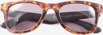 TOM TAILOR ovale Sonnenbrille in One Size in braun / hellorange, Produktansicht