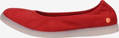 Softinos Ballerinas in rot, Produktansicht