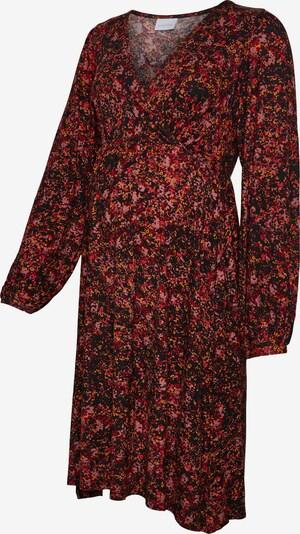 MAMALICIOUS Robe en mélange de couleurs / noir, Vue avec produit