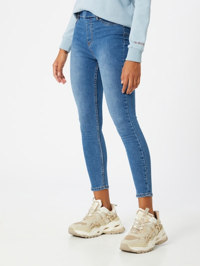 Hailys Jeggings in blue denim, Modelansicht