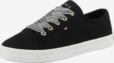 TOMMY HILFIGER Zapatillas deportivas bajas 'Foxie' en navy / rojo fuego / negro / blanco, Vista del producto