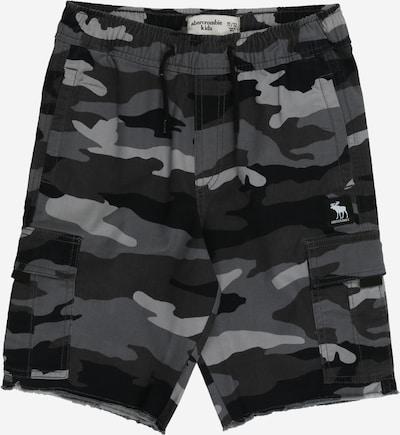 Pantaloni Abercrombie & Fitch di colore grigio / antracite / grigio basalto / grigio scuro, Visualizzazione prodotti