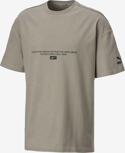 PUMA T-Shirt in rauchgrau, Produktansicht