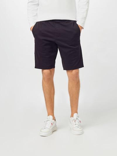 HOLLISTER Pantalon en noir, Vue avec modèle