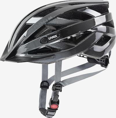 UVEX Fahrradhelm 'air wing' in grau / weiß, Produktansicht