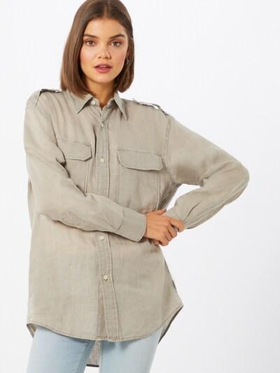 REPLAY Blouse in de kleur Lichtbeige, Modelweergave
