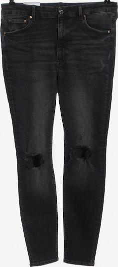 H&M Röhrenjeans in 34 in schwarz, Produktansicht