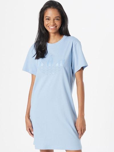 ADIDAS ORIGINALS Kleid 'TEE DRESS' in rauchblau, Modelansicht
