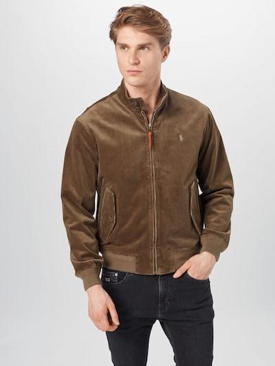 POLO RALPH LAUREN Between-season jacket 'BARRACUDA' in Chestnut brown: Frontal view
