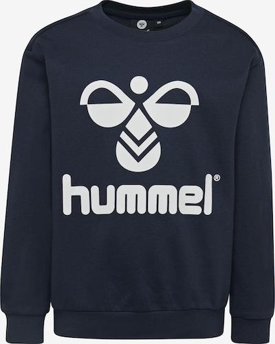 Hummel Sportsweatshirt in nachtblau / weiß, Produktansicht