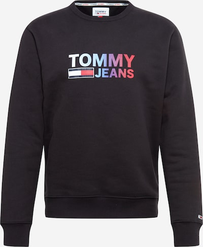 Tommy Jeans Sweatshirt in Mixed colours / Black: Frontal view