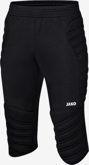JAKO Hose in schwarz / weiß, Produktansicht
