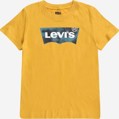 LEVI'S T-Shirt in navy / taubenblau / gelb / weiß, Produktansicht