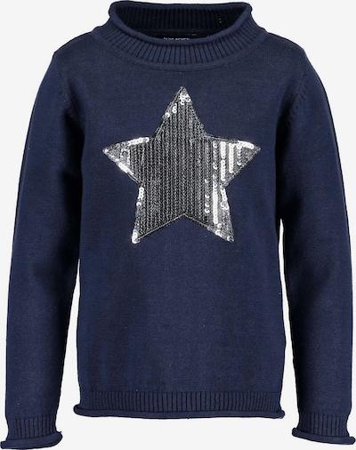 BLUE SEVEN Pullover in dunkelblau, Produktansicht