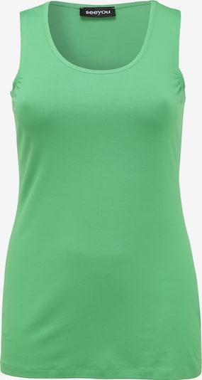 seeyou Top in grün, Produktansicht