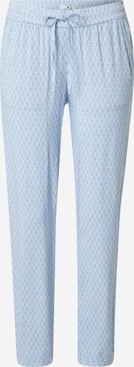 TOM TAILOR Kalhoty - modrá / bílá, Produkt