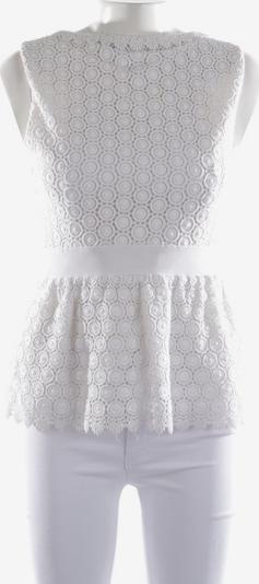 Diane von Furstenberg Top / Seidentop in M in weiß, Produktansicht
