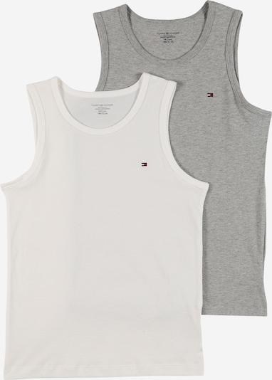 Tommy Hilfiger Underwear Unterhemd in navy / graumeliert / rot / weiß, Produktansicht