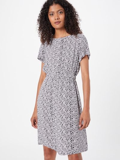 Hailys Kleid 'Denise' in nachtblau / weiß, Modelansicht