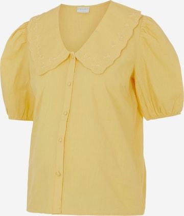 Camicia da donna 'Tae' di Pieces Maternity in giallo