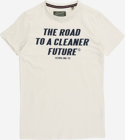 Marškinėliai iš Petrol Industries, spalva – nakties mėlyna / balta, Prekių apžvalga