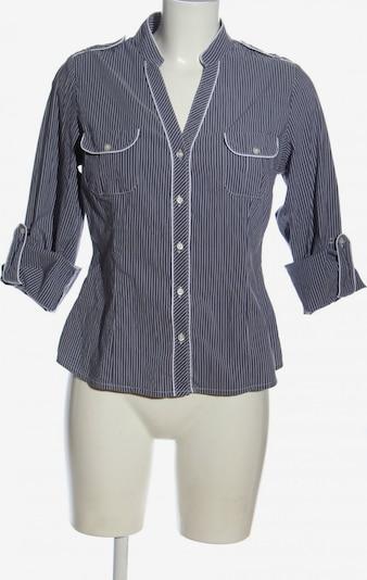 NEXT Hemd-Bluse in L in blau / weiß, Produktansicht